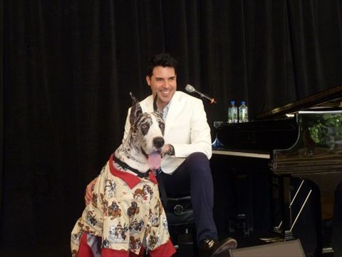 Las Vegas sensation Frankie Moreno and Leopold