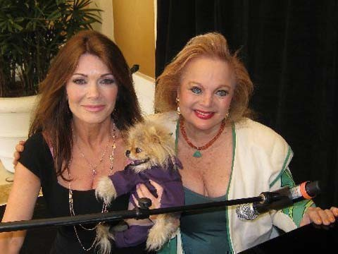 CC with Lisa Vanderpump of Real Housewives of Beverly Hills and her furry friend Giggy