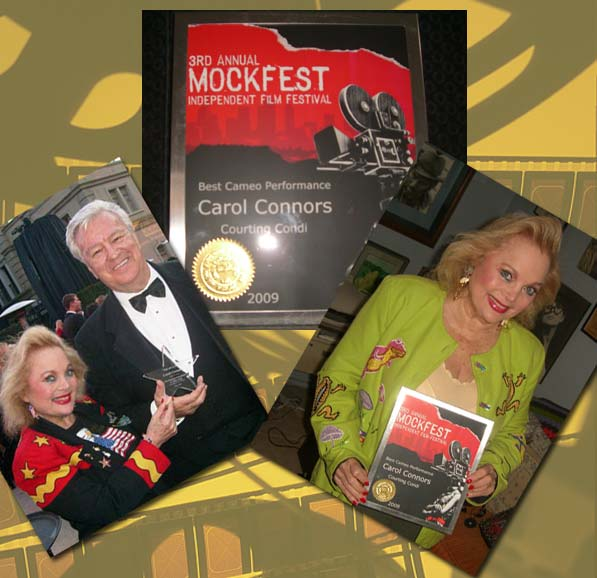 carol connors and Ron Masak