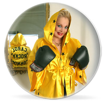 Carol Connors Rocky Plate
